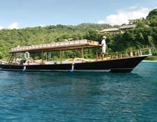 アマンキラ所有のボート