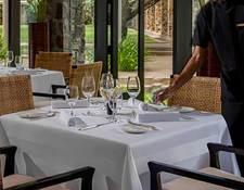 アマンサラのレストラン