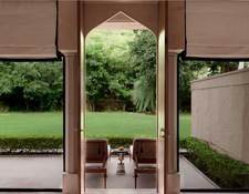 ガーデンハベリスイートのテラス