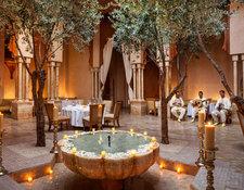 アマンジェナのモロッコレストラン