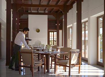 アマンルヤのレストラン