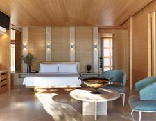 ビーチカバナのベッドルーム